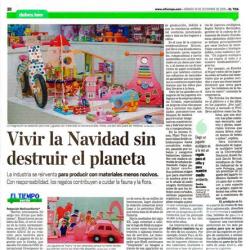 juguetes ecológicos son noticia en eureka